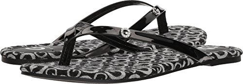 G by GUESS Women's Bayla15 Black/White Logo 7.5 M US