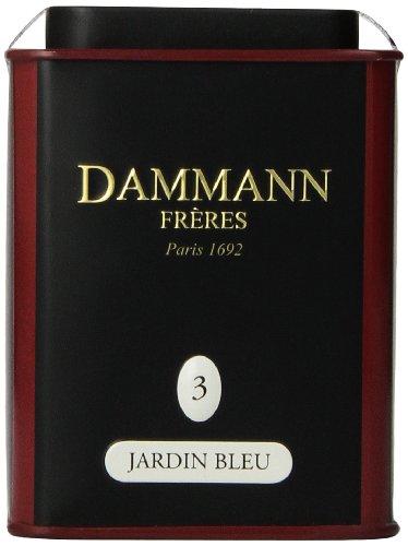 DAMMANN FRERES Jardin Bleu Loose Tea, 3.52 ounce
