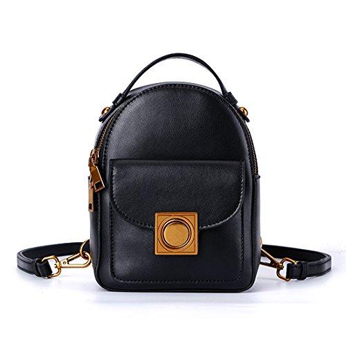 Rucksack weibliche Mode alle - Farbe retro Mini Rucksack