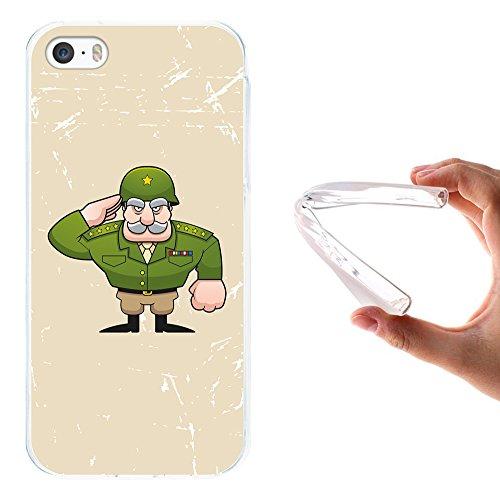 WoowCase Hülle Case für { iPhone SE iPhone 5 5S } Handy Cover Schutzhülle Allgemein