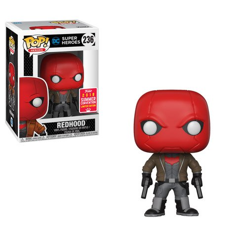 (Funko Pop DC Super Heroes Red Hood SDCC Summer Convention Exclusive)