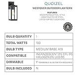 Quoizel WVR8405EK Westover Modern Industrial