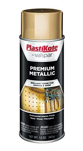 PlastiKote 452 General Purpose Metallic Gold Premium Enamel - 12 Oz.