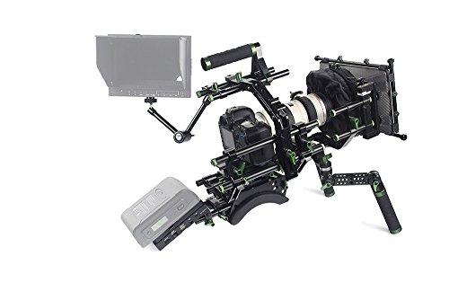 Lanparte PK-02-C Professional DSLR Camera Kit V2 without Monitor and Battery (Black)