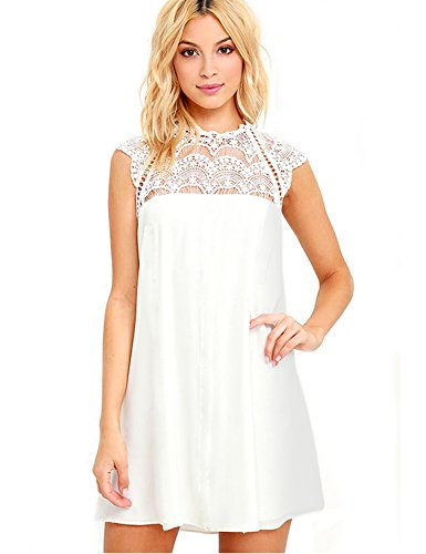 ivory lace bridal shower dress - 8