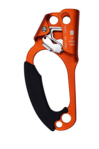 NIIGO Hand Ascender Rock Climbing Tree Arborist Rappelling Gear Equipment Rope Clamp for 8 13MM Rope