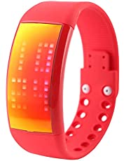 W4E Intelligent 3D Pedometer Watch Smart Band Silicone Bracelet Fitness LED Watch Calorie Function Watch