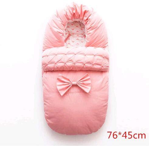RubyShopUU ベビーおくるみ ラップ封筒 厚手 暖かい 新生児 幼児 寝袋 ベビーカー コットン おくるみ ブランケット 寝袋 フットマフ  4 B07PRY2GPG