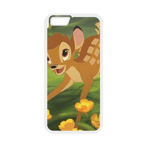 Bambi 013 coque iPhone 6 4.7 Inch cellulaire cas coque de téléphone cas blanche couverture de téléphone portable EOKXLLNCD26085