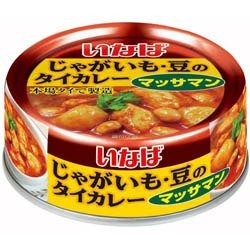 Inaba Thai curry potatoes, beans (massaman curry) 125g by Thai curry of Inaba