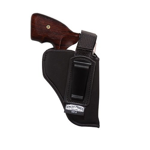 Uncle Mike's Off-Duty and Concealment ITP Holster (Black, Size 36, Right Hand)