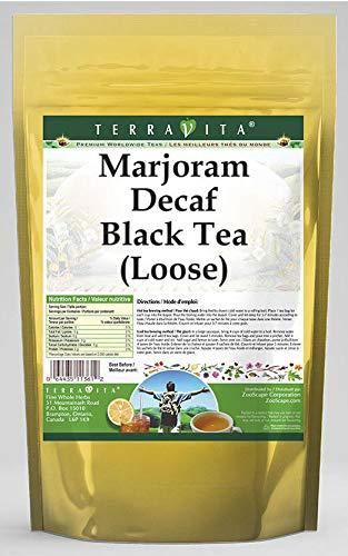 Marjoram Decaf Black Tea (Loose) (4 oz, ZIN: 543302)