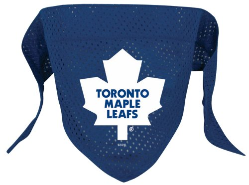 NHL Toronto Maple Leafs Pet Bandana, Team Color, Large