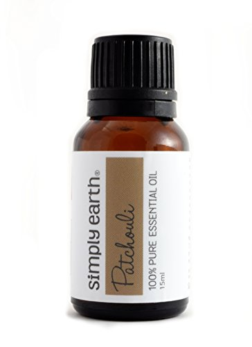 Patchouli Essential Oil by Simply Earth - 15 ml, 100% Pure Therapeutic Grade