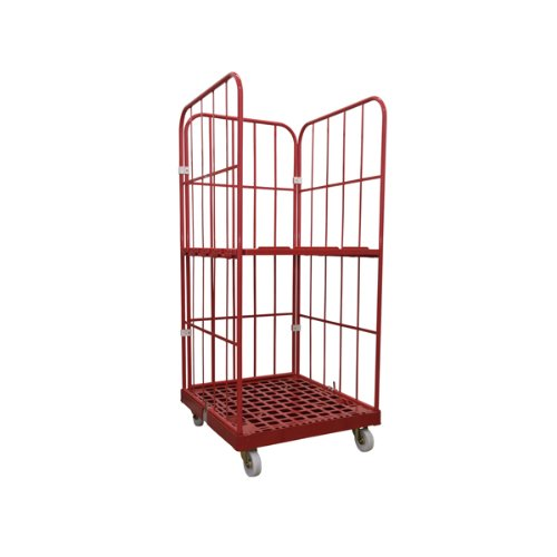 1 Zwischenboden Rollbeh/älter 1450 mm 3 seitig rot inkl