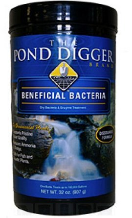 Helix Life Support The Pond Digger All-Season Beneficial Pond Bacteria - 32oz by Helix Life Support