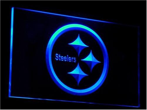 (Pittsburgh Steelers NFL Football Neon Light)