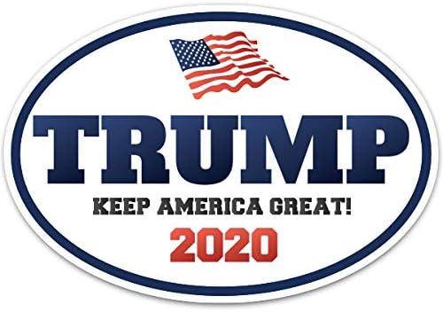 Etiqueta del vinilo 8 Donald Trump para presidente 2016 republicano elecciones Etiqueta de la ventana