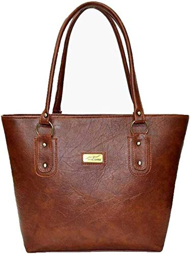 AVNI`S Womens Brown Hand held Bag