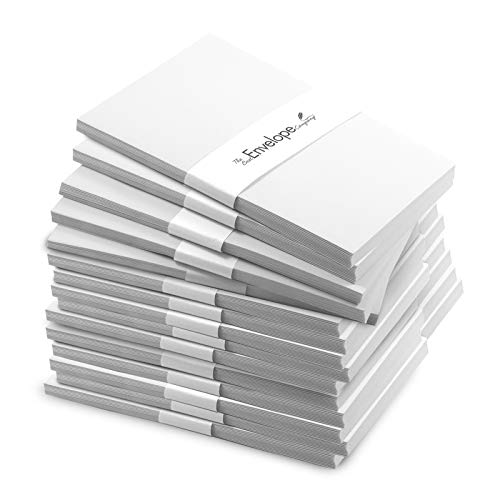 240 Pack of Bright White 5 x 7 Inch Envelopes (Not A7 - Fits Cards Smaller Than 5x7) - Envelope for Christmas or Holiday Cards, Invitations, Greeting Card, Letter - 28lb Fine Smooth Paper ENV5X7WHT240