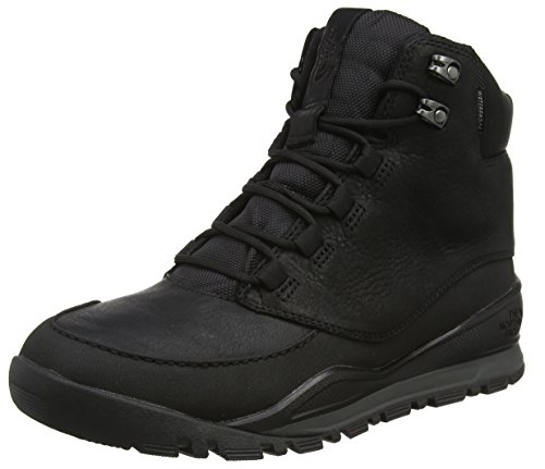 The North Face Edgewood 7-Inch, Stivali da Escursionismo Uomo Multicolore (Tnf Black/Dark Shadow Grey)