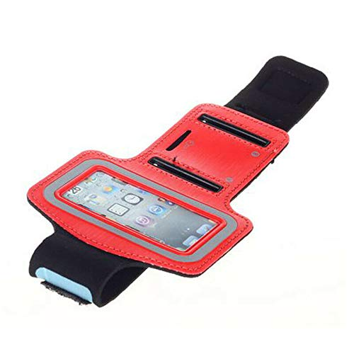 WILLOWLUCKY New Quality Gym Running Jogging Outdoor Running Armband Case for Apple iPod Nano 7 - Red Armband Ipod