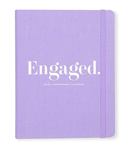 - Kate Spade New York Bridal Appointment Calendar, Undated with Weekly and Monthly Views, Engaged (Purple)