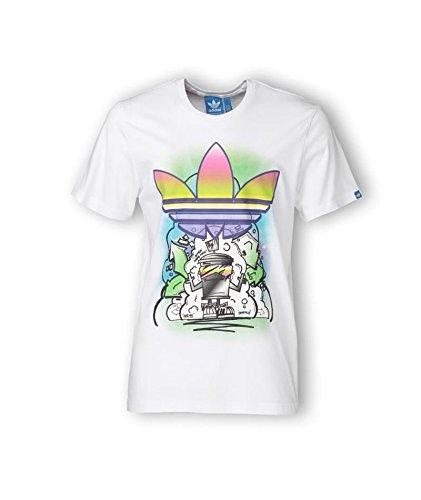 ba37189e83fed adidas Originals Camiseta Para Hombre S - 168 cm  Amazon.es  Alimentación y  bebidas