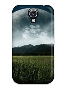 ChrisWilliamRoberson Fashion Protective Planets In The Sky Above The Mountains Case Cover For Galaxy S4