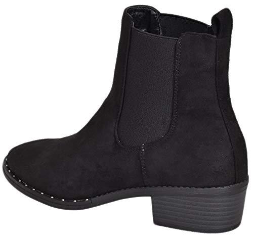Emma Zapatillas Mujer black Altas Ls0621 Shoes 7z7WRO