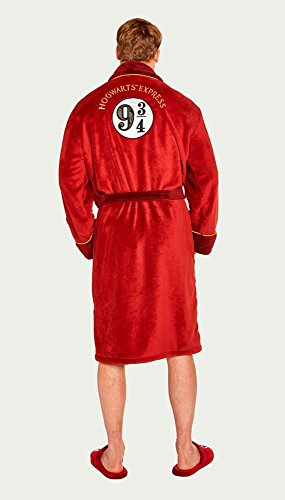 Accappatoio Felpato 9 3 Uk Rosso 4 Harry Express Hogwarts Potter Groovy SFOv6qwpc