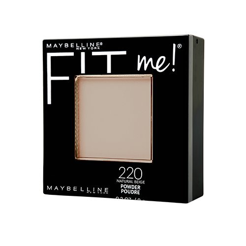 Maybelline Fit Me Matte + Poreless Powder, Natural Beige, 0.29 oz.