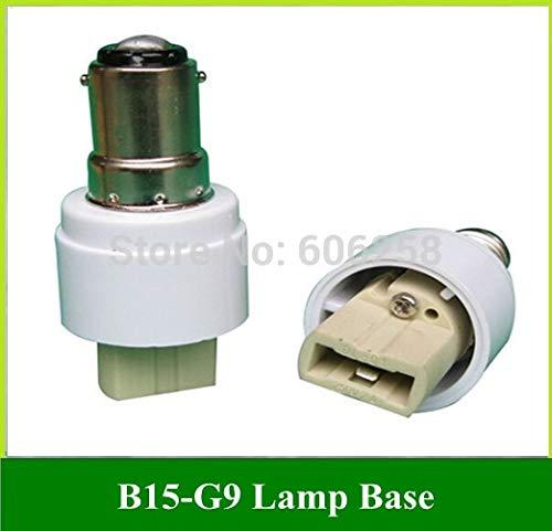 Halica B15 G9 Lamp Holder Converter B15 TO G9 Light Base Socket 20PCS