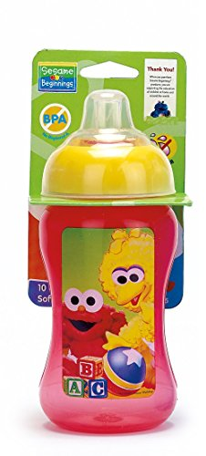 Sesame Beginnings Soft Spout Cup,colors  - Sesame Street Dinnerware Shopping Results