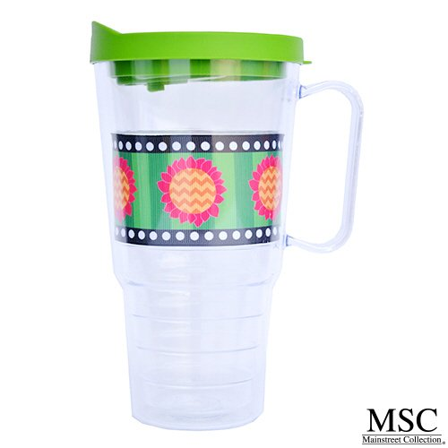 Sunflower Acrylic 24oz Insulated Travel Tumbler Collectio...
