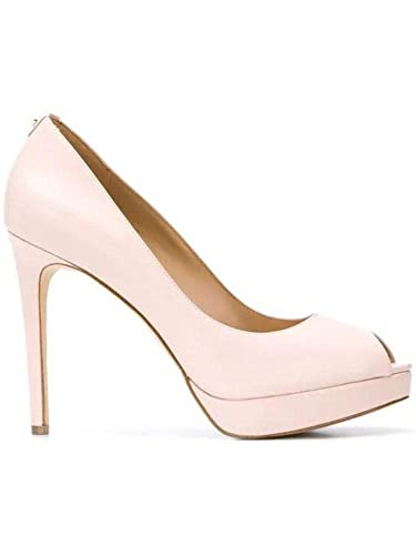 016f23c2e2f0 Image Unavailable. Image not available for. Color  MICHAEL BY MICHAEL KORS  Women s 40S8erhp1l187 Pink Leather Pumps
