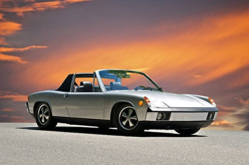 Imagekind Wall Art Print entitled 1970 Porsche 914-6 by Dave Koontz | 48 x 32