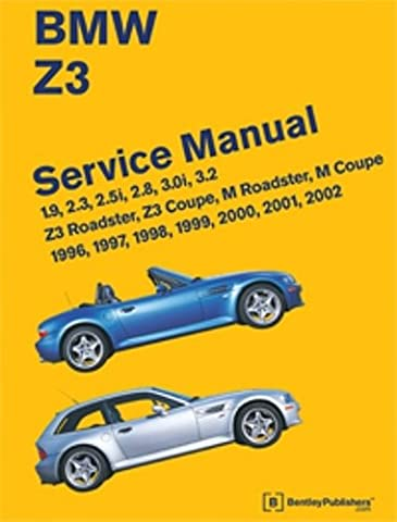 BMW Z3 Service Manual: 1996, 1997, 1998, 1999, 2000, 2001, 2002 - 1996 Bmw Z3 Roadster
