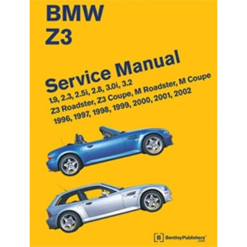Bmw Z3 Convertible Top Problems: BMW Repair Manual: Amazon.com