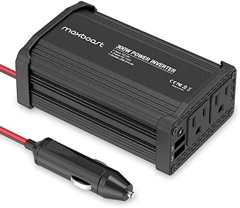 Maxboost Inverter Charger Aluminum Battery product image