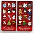 Kurt Adler Petite Treasures 12-Piece Miniature Ornaments Set, 2 Pack