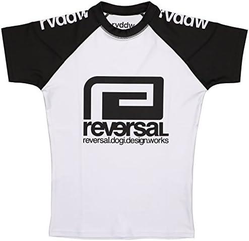 (リバーサル) REVERSAL rvddw RASH GUARD (RUSH GUARD)(rvbs018-WH) Tシャツ 半袖 ラッシュガード 国内正規品