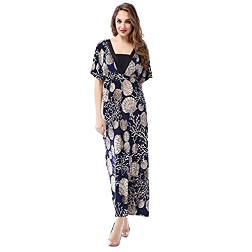 MarysGift Womens Plus Size Boho Long Maxi Evening Party Casual Beach Dress US 28