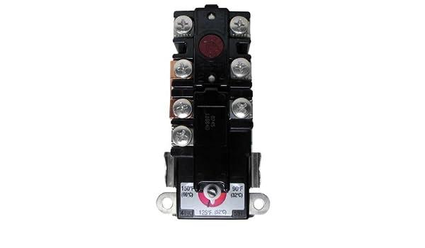 Rheem uv11698 therm-o-disc superior termostato, Eléctrico calentadores de agua, Modelo: uv11698, herramientas y Ferretería: Amazon.es: Jardín