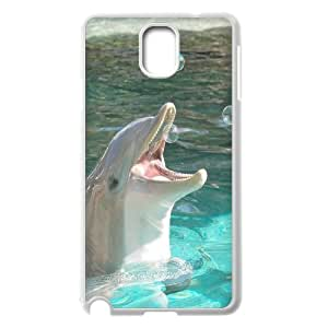 UNI-BEE PHONE CASE For Samsung Galaxy NOTE3 Case Cover -Dolphins Art Pattern-CASE-STYLE 2