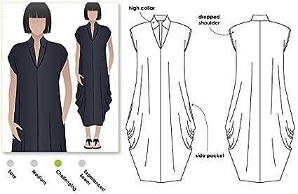 49c6c6d53 Amazon.com: Style Arc Sewing Pattern - Toni Designer Dress (Sizes 04 ...