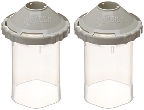 DeVilbiss (DPC607) 9oz Reusable Frame and Lid by DeVilbiss