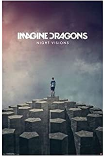 Da Bang Trends Intl Imagine Dragons Night Visions Poster Print Size 50x75cm C225