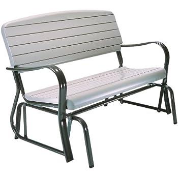 Amazon Com Giantex Swing Glider Chair Patio Steel Porch
