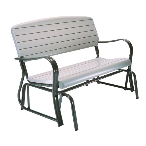 Lifetime 2871 Indoor/Outdoor Glider Bench, 4 Feet, Putty by Lifetime